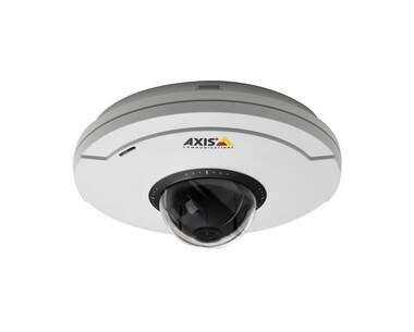 Câmera Axis M5014 Network Camera PTZ IP – Um Dome mini que oferece uma imagem ampla – HDTV – Interna