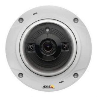 Câmera Axis M3024-LVE Network Camera Dome IP – HDTV – Fixa – Externa – Anti-vandalismo – InfravermelhoJ ( Versão Atualizada para M3113-VE – M3114-VE – Axis 209MFD )
