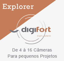 Software VMS Digifort - Explorer para de 4 à 16 câmeras