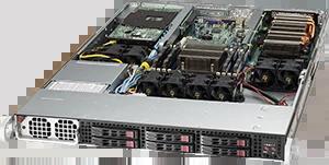Servidor Supermicro SuperServer 1018GR-T – 2 GPUs – 1 CPU – 6 Drives NVIDIA® NVLink™