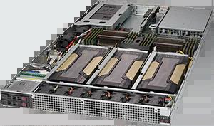 Servidor Supermicro SuperServer 1028GQ-TR – 4 GPUs – 2 CPUs – 4 Drives NVIDIA® NVLink™