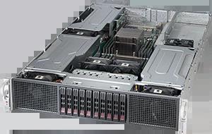Servidor Supermicro SuperServer 2028GR-TRH – 6 GPUs – 2 CPUs – 10 Drives