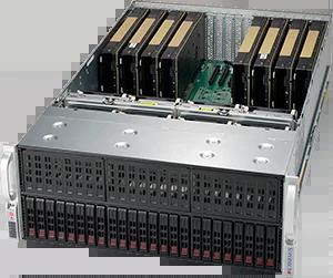 Servidor Supermicro SuperServer 4028GR-TR – 8 GPUs – 2 CPUs – 24 Drives NVIDIA® NVLink™