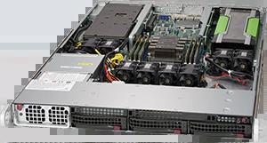Servidor Supermicro SuperServer 5019GP-TT – 2 GPUs – 1 CPU – 3 Drives NVIDIA® NVLink™