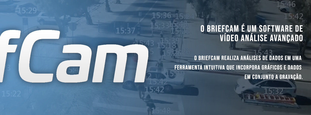 BriefCam - Software de Vídeo Análise para câmeras IP como Axis Communications e Bosch