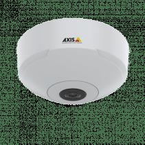Câmera de rede AXIS M3067-P – Mini dome de 6 MP com vista panorâmica de 360 °